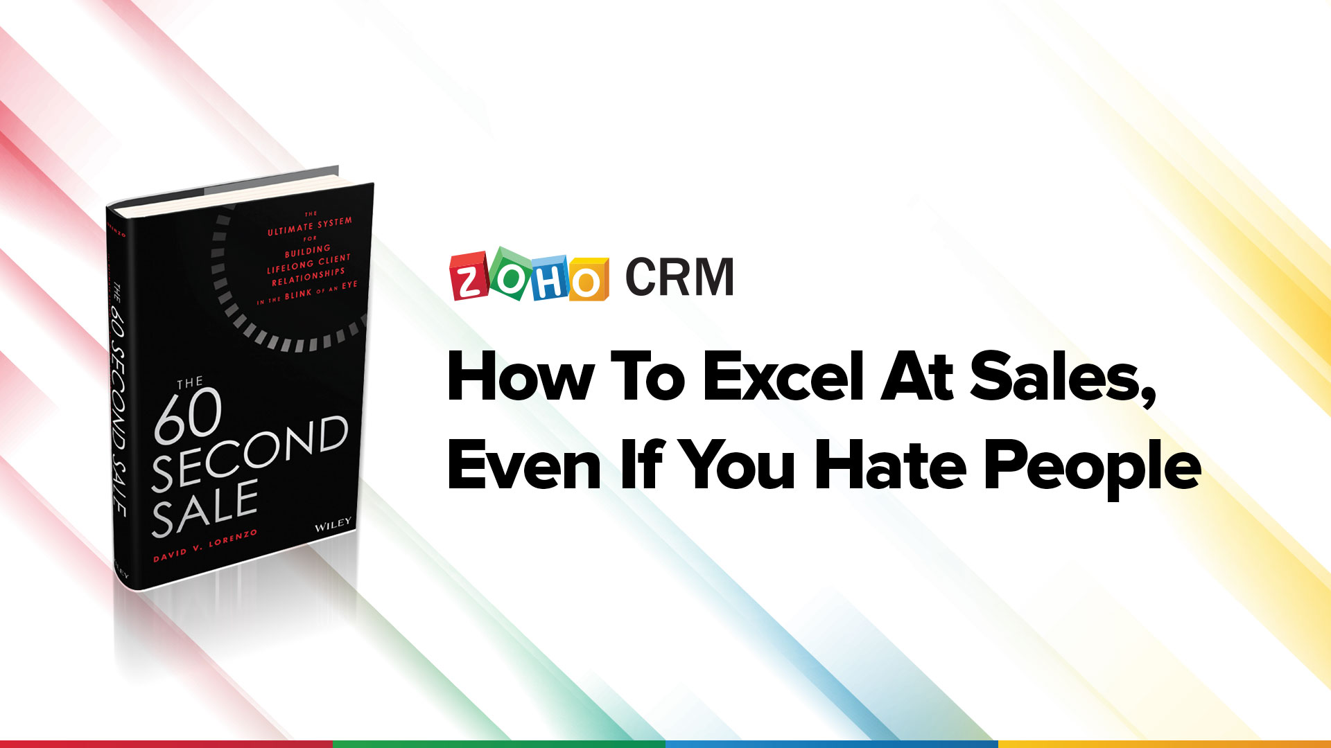 How to excel at sales, even if you hate people