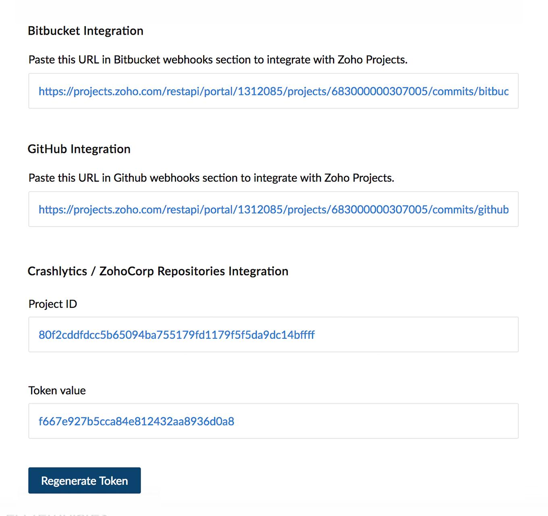 Github | Zoho Projects