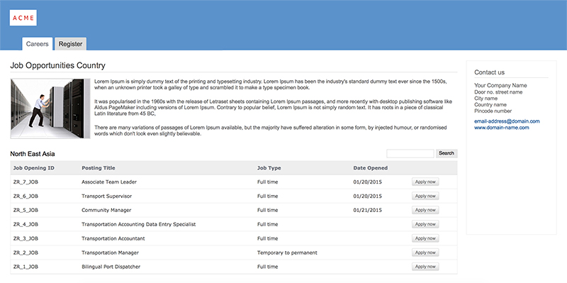 Create and publish job openings - Zoho Recruit
