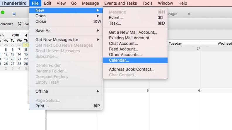 Re: IMAP and calendar sync.