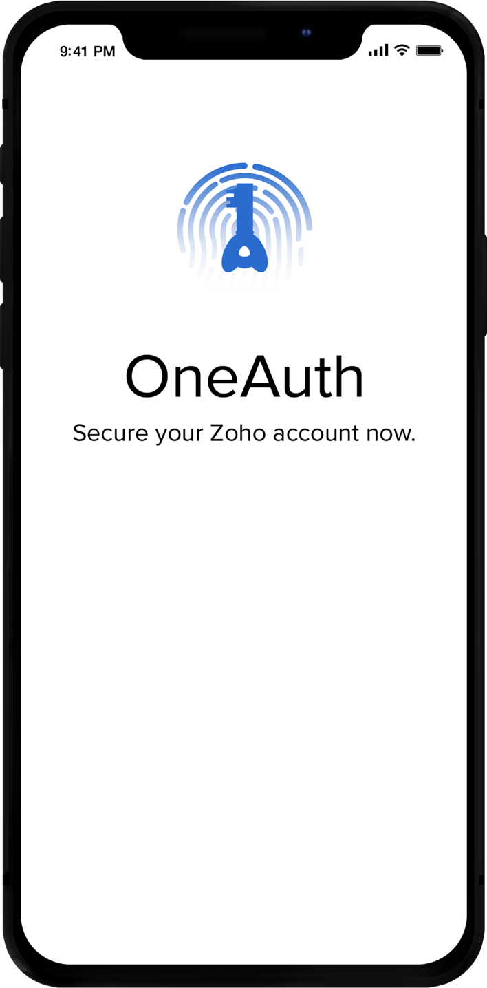 Zoho OneAuth