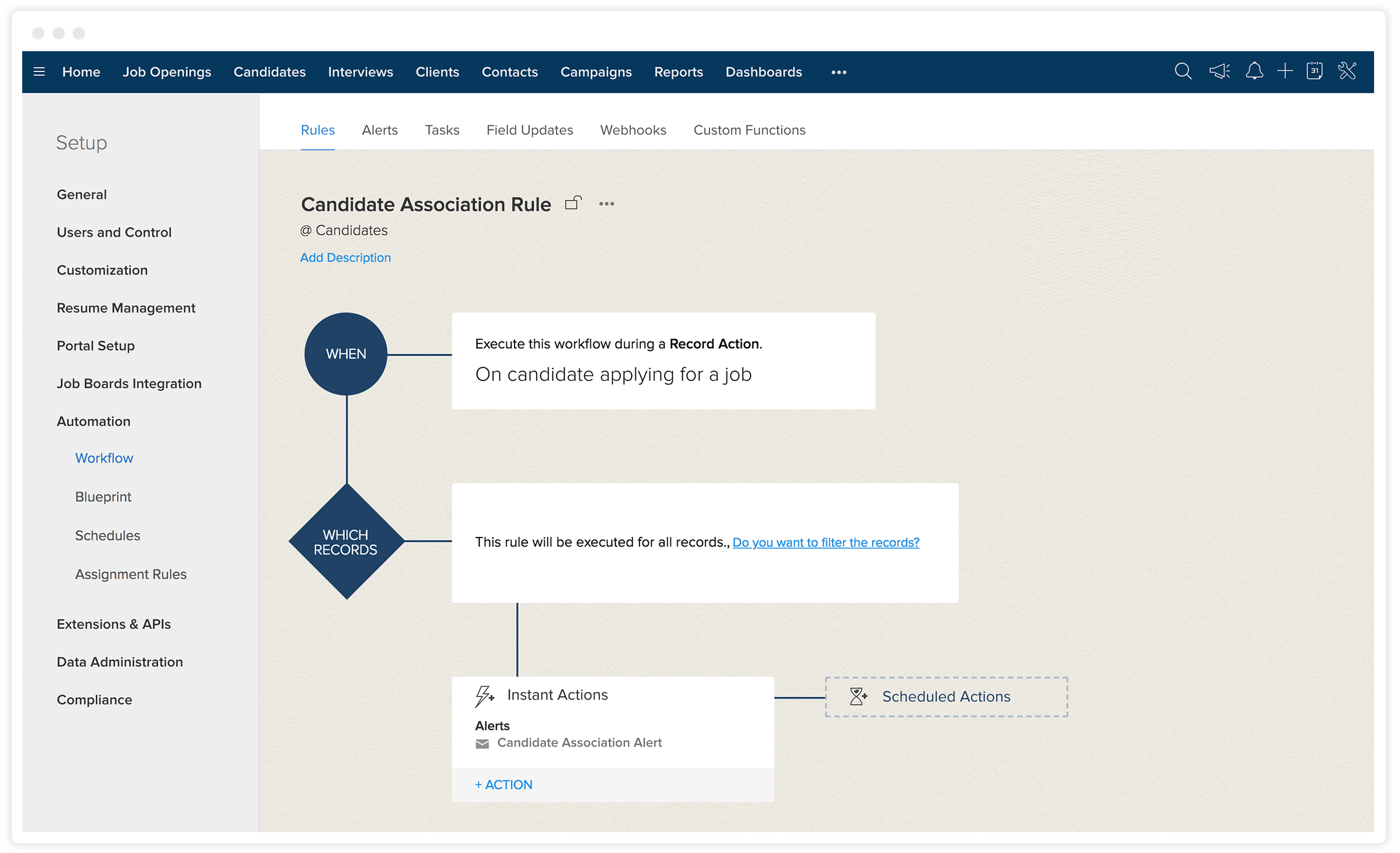 AI Recruitment Software | Hiring Automation - Zoho Recruit