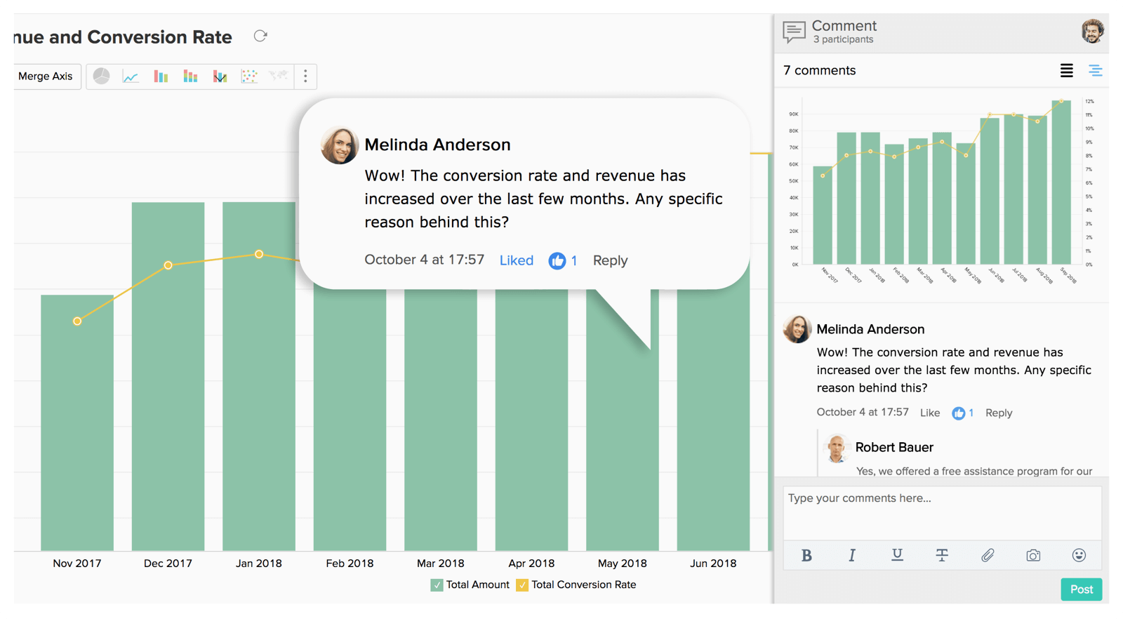 Analyze Data In a Secure, Collaborative Way - Zoho Analytics