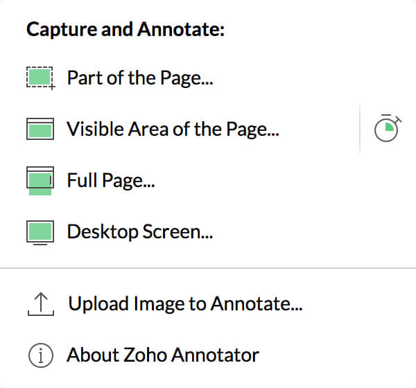 Annotator - Screen capture and annotation software | Zoho
