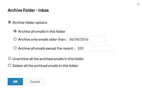 Archive Emails