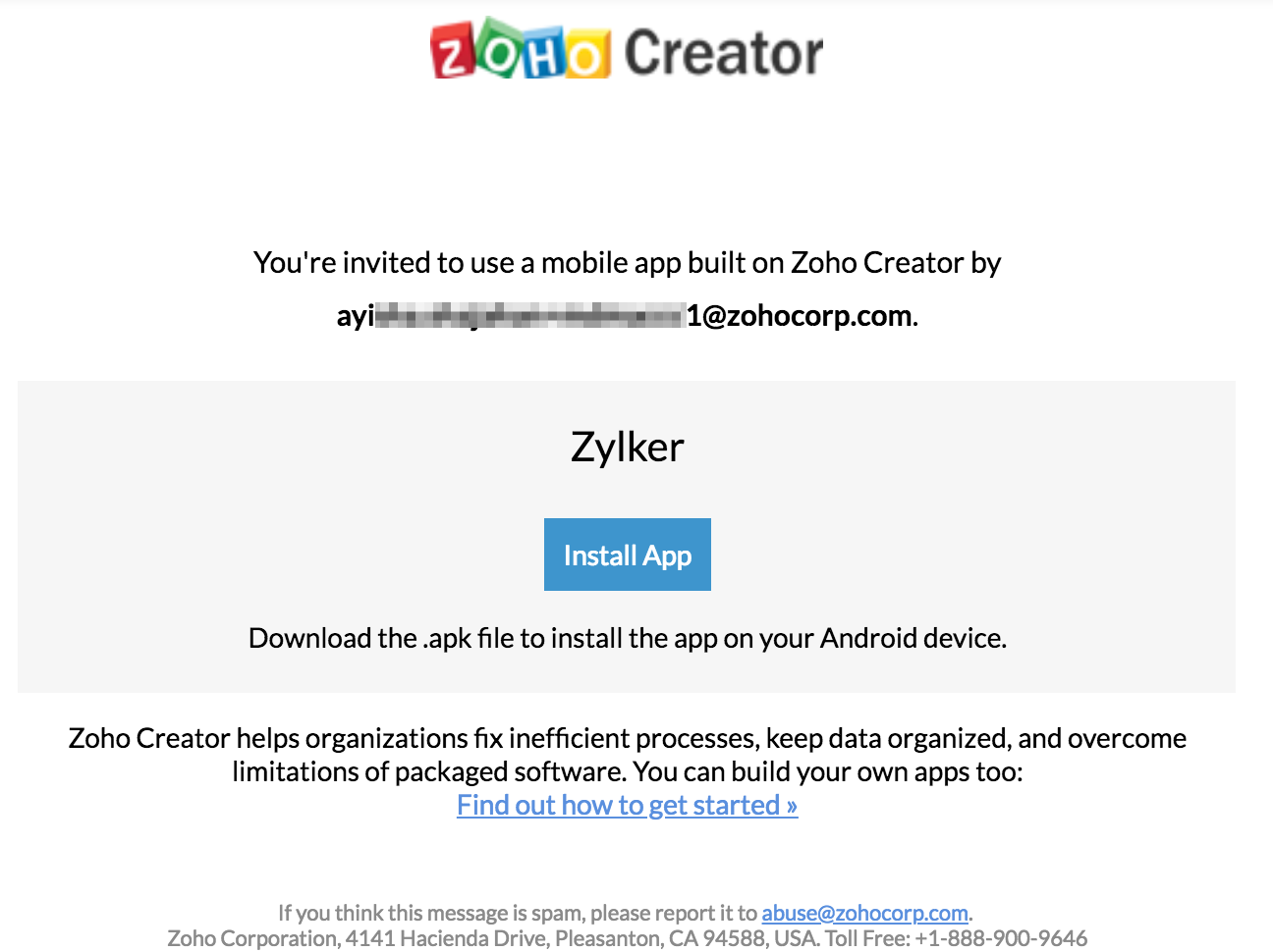 Code sign Android app for users | Zoho Creator Help