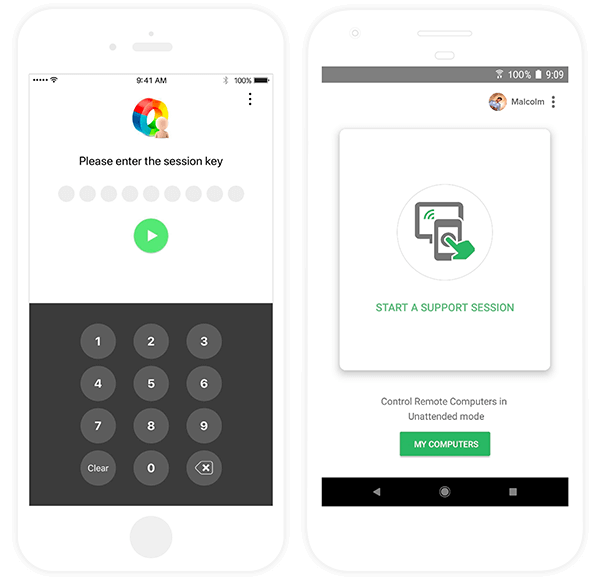 Remote Access App for Mobile - Zoho Assist