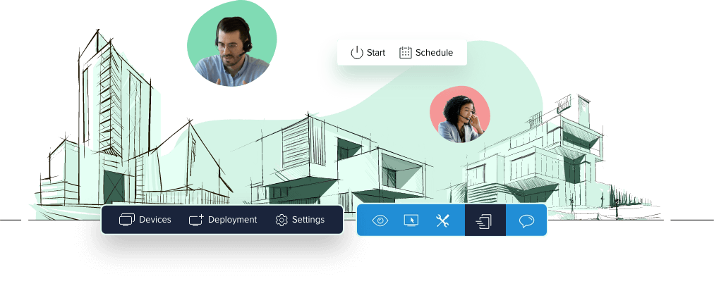 An online assist app for instant collaboration - Zoho assist