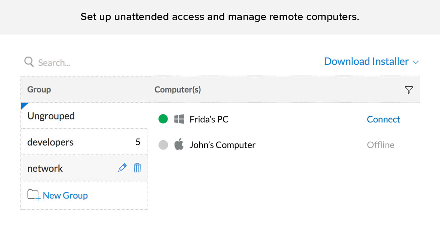 Unattended remote access free - Zoho Assist