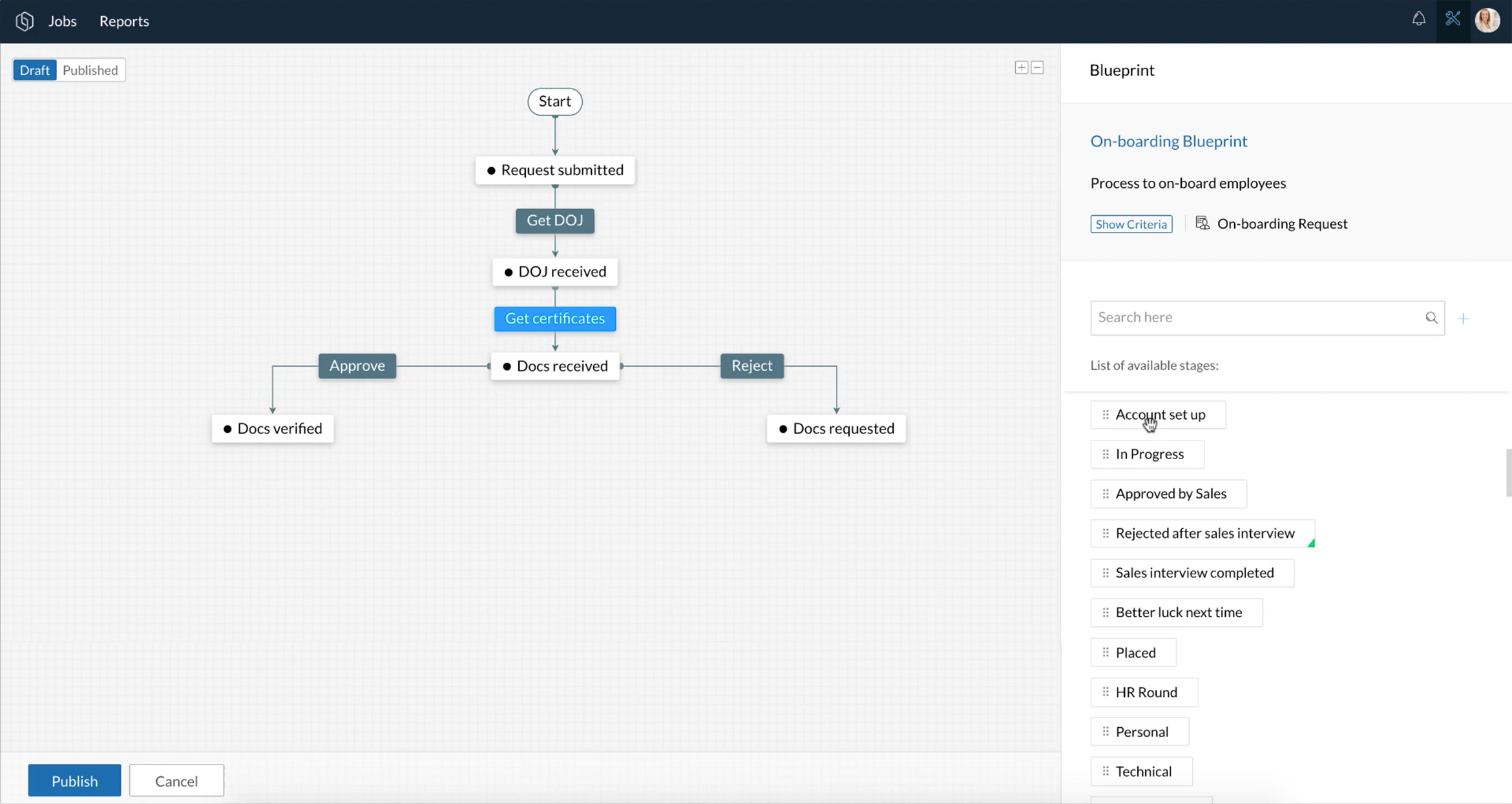 Automate business processes | Blueprints: Orchestly