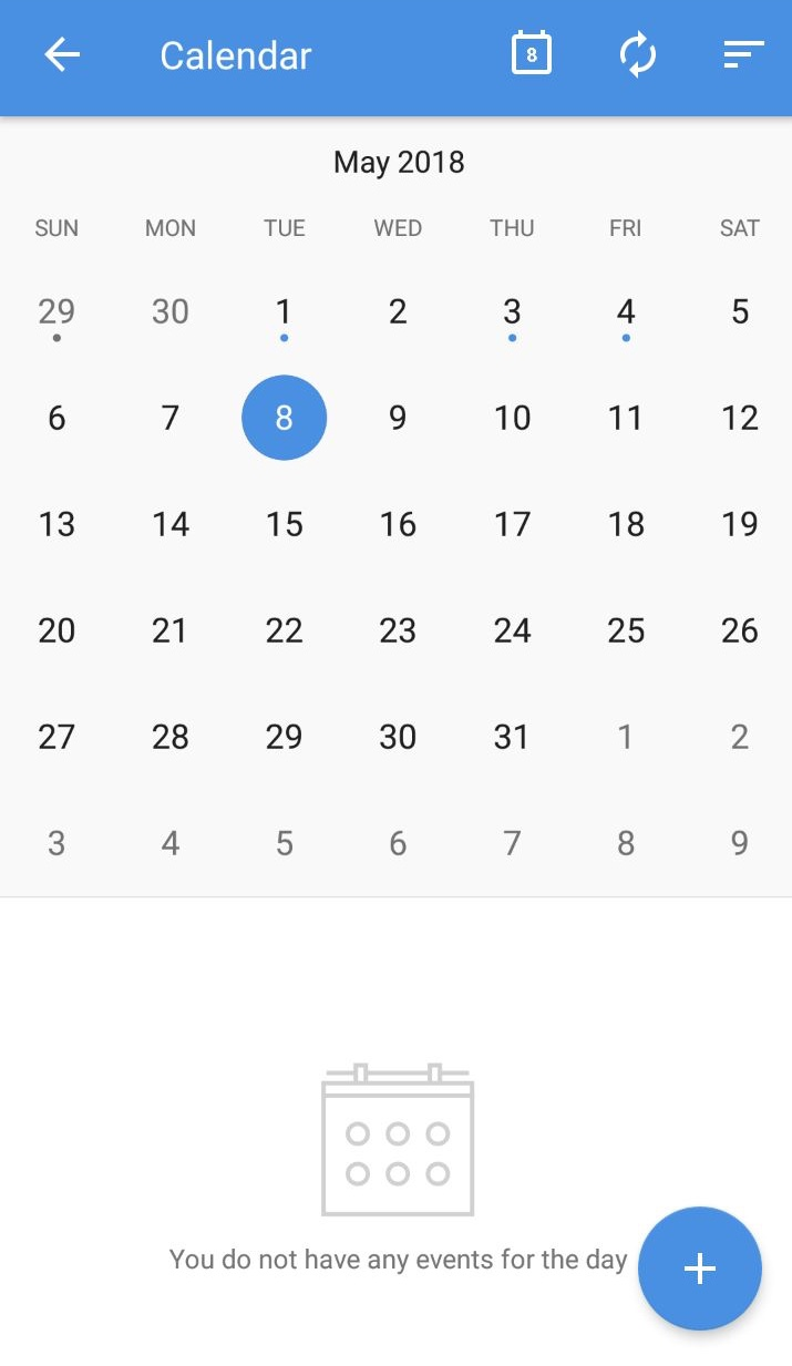 Access your Zoho Calendar from your Mobile