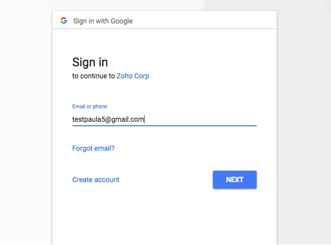 Sync your Google Calendar with Zoho Calendar