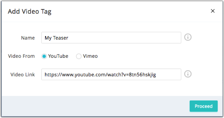 Create Video Merge Tags - Online Help | Zoho Campaigns