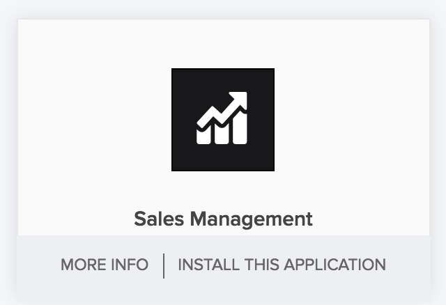 Install an application from gallery | Zoho Creator Help