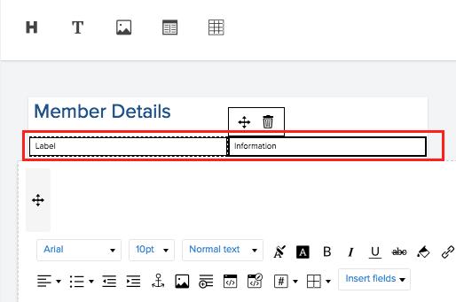 Create Print Template for List Report   Zoho Creator Help