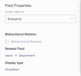 Define Bidirectional Relation For A Lookup Field Zoho Creator Help
