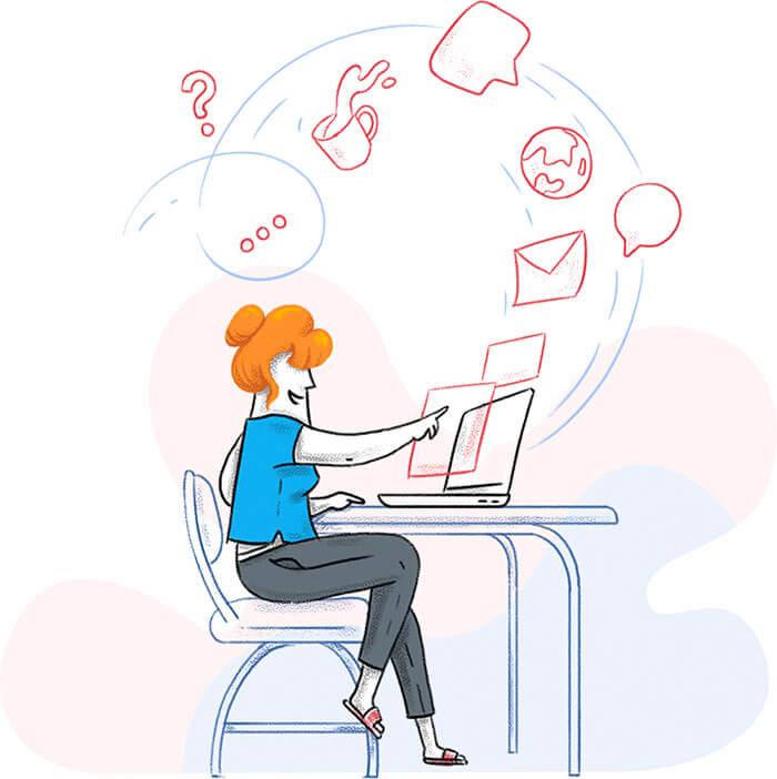 Zoho Creator client portal software