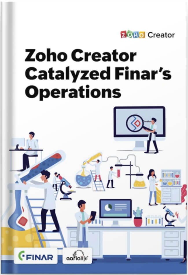 Zoho creator ebook