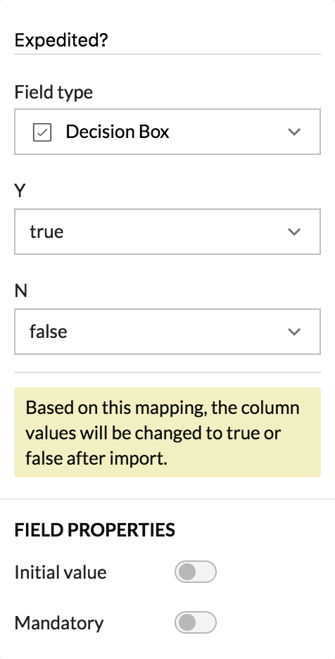 Create a Form by Importing Data   Zoho Creator Help