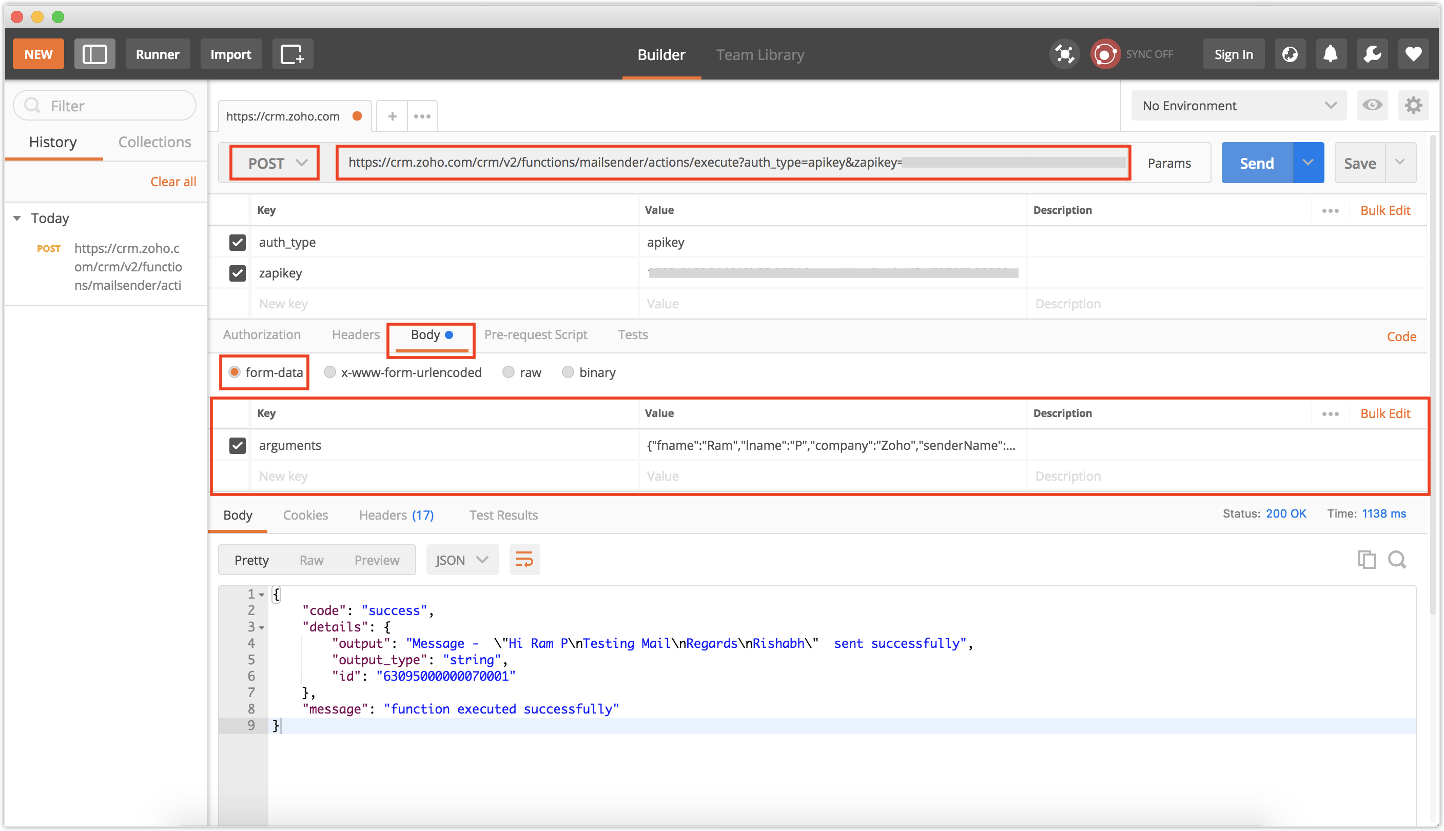 Set up Functions | Online Help - Zoho CRM