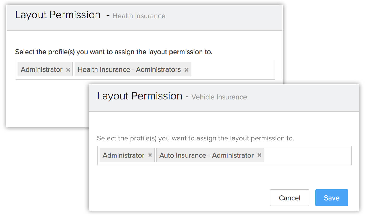 Customization - Insurance Sector | Tutorial - Zoho CRM