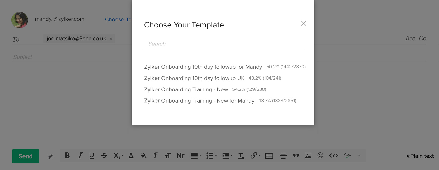 Email Management | Multichannel CRM | Zoho CRM