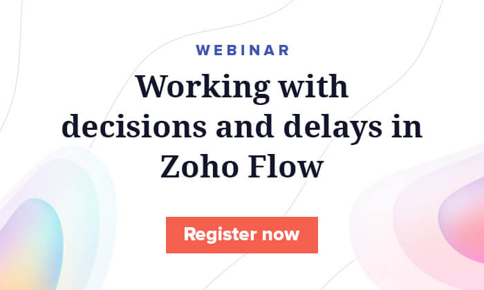 How to automate your ecommerce business using Zoho