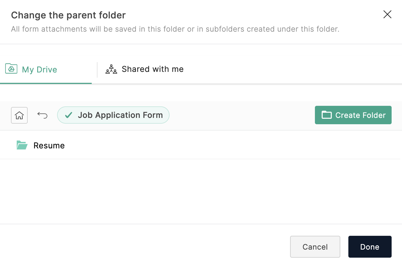 Manage Form Attachments Zoho Forms User Guide