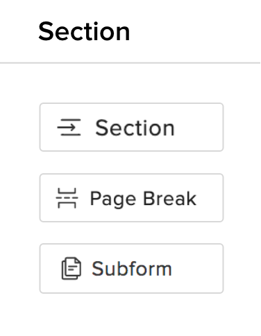 Form Builder Subform - Zoho Forms