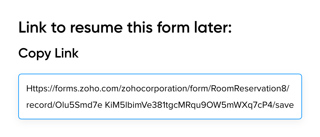 Resume Form Builder - Zoho Forms