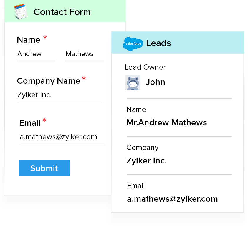 Salesforce Mobile Forms - Zoho Forms