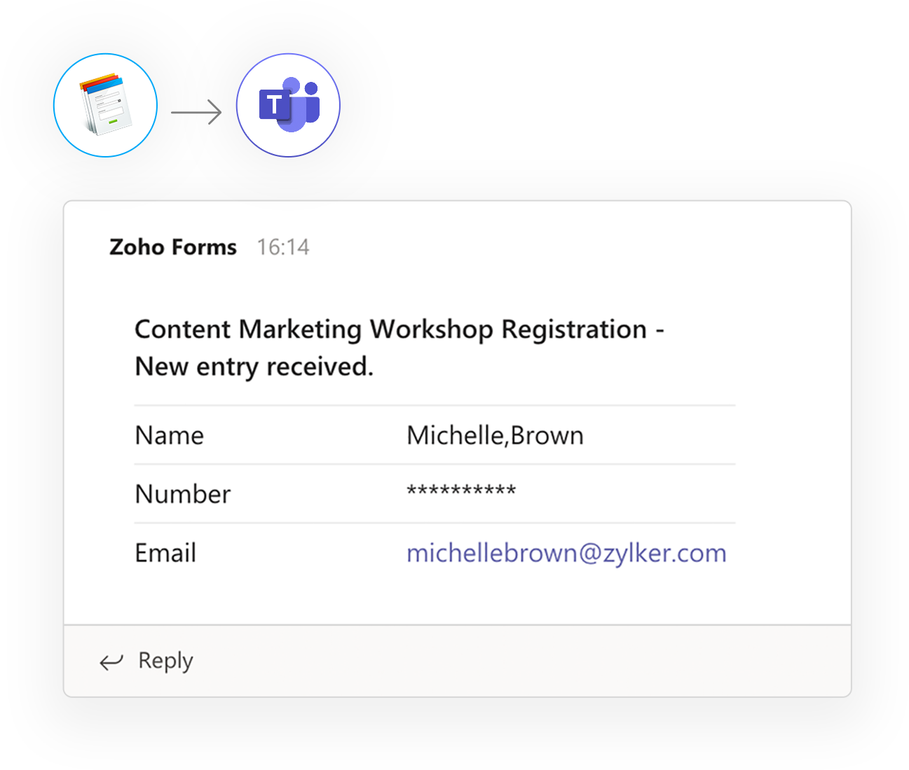 Online Forms - Zoho Forms