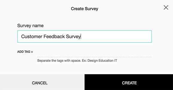 Create online surveys