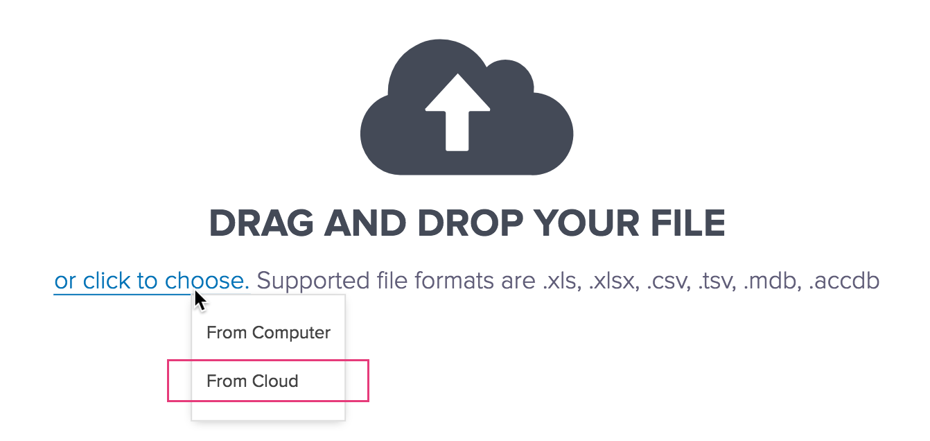 Create a Form by Importing a File from Box | Zoho Creator Help