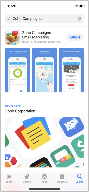 Zoho Campaigns App for iOS - Online Help | Zoho Campaigns
