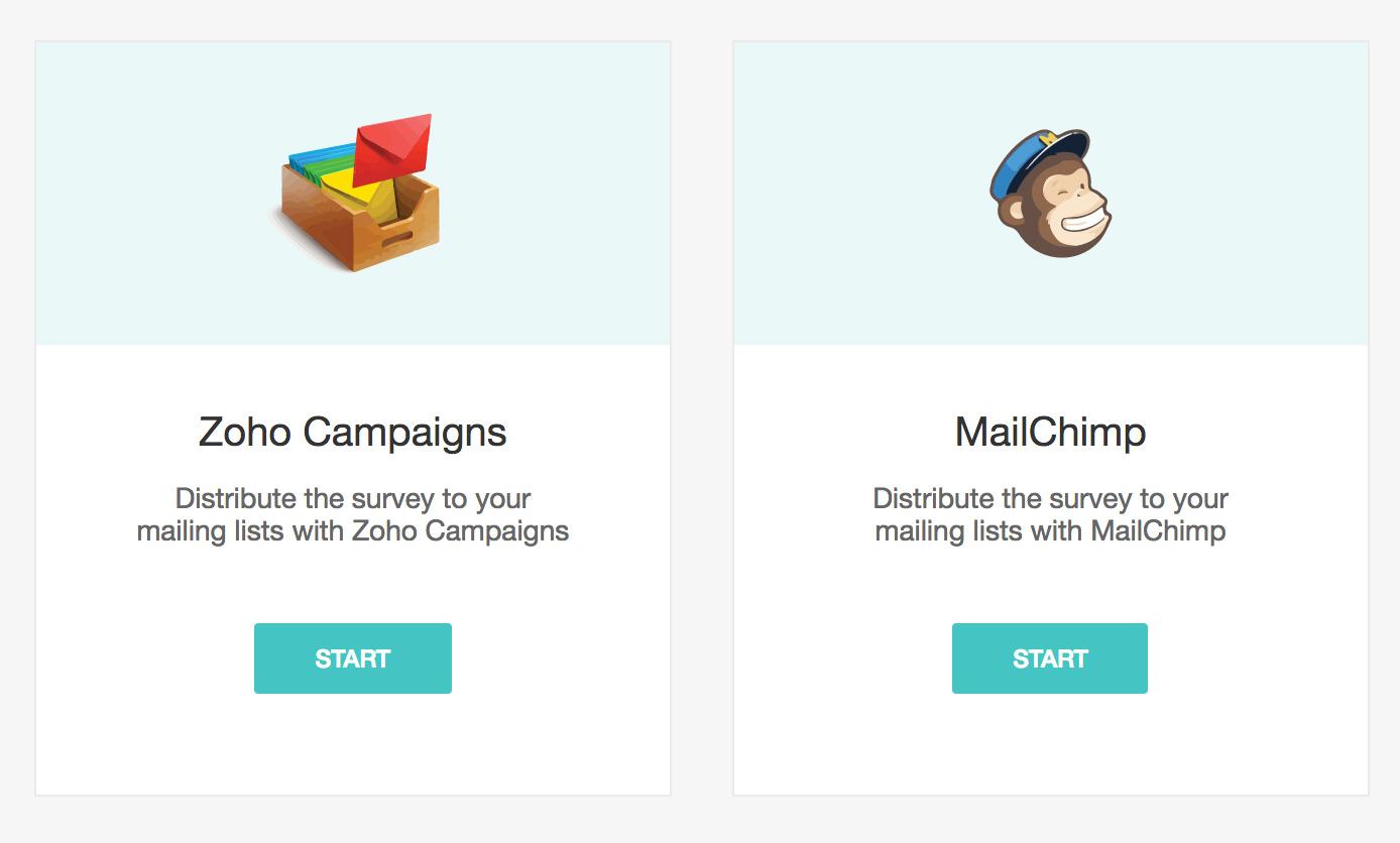 MailChimp integration with Zoho Survey