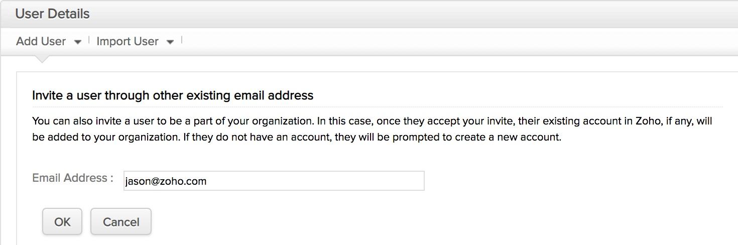Zoho Mail Setup - Adding Users