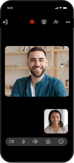 An online meeting app for instant collaboration - Zoho meeting