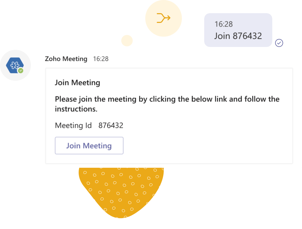 Join instant meetings