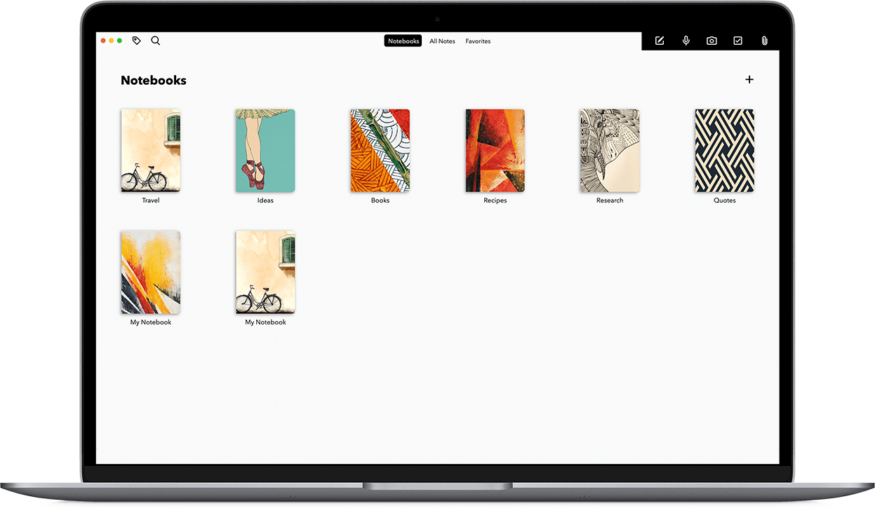 The most beautiful note-taking app across devices.