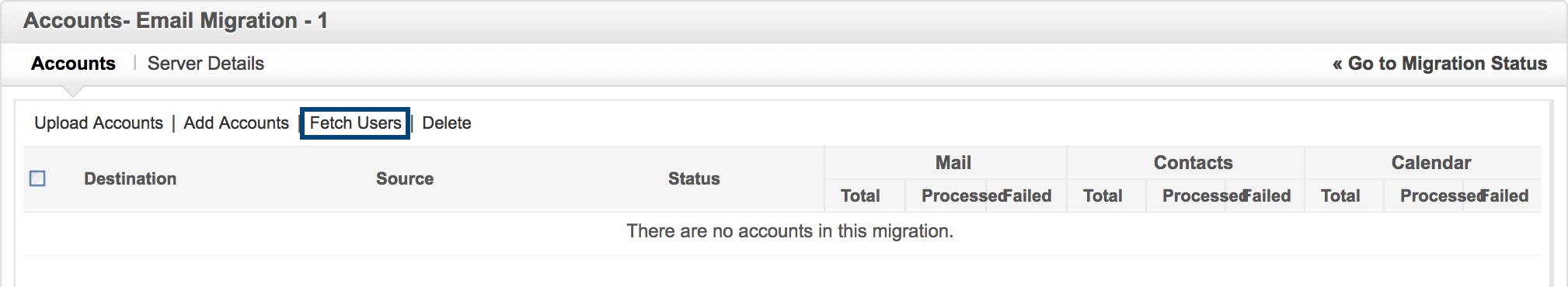 Migration from G Suite to Zoho Mail