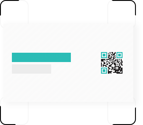 business card scan