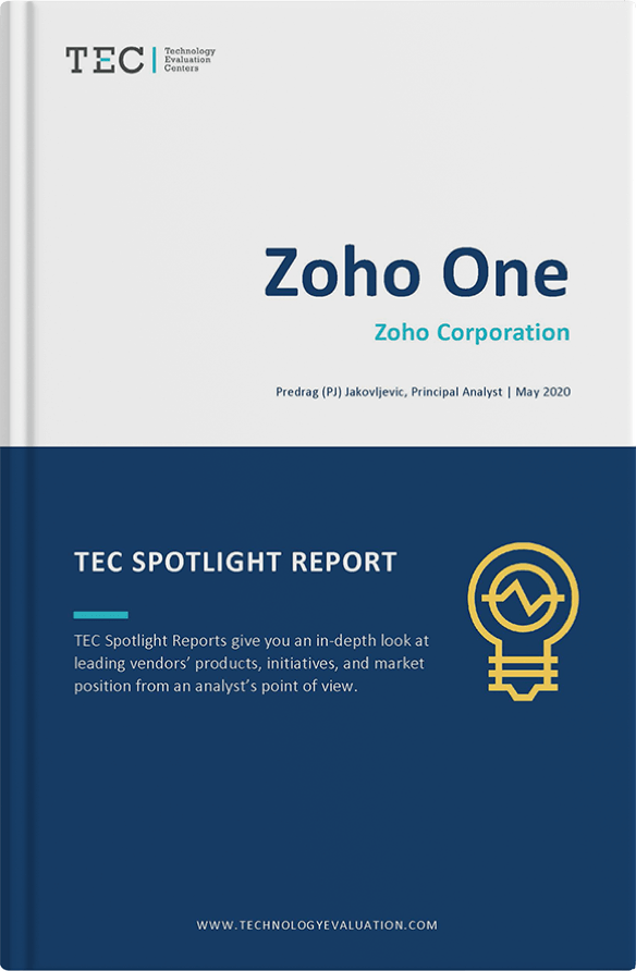 TEC Zoho One Spotlight Report 2020