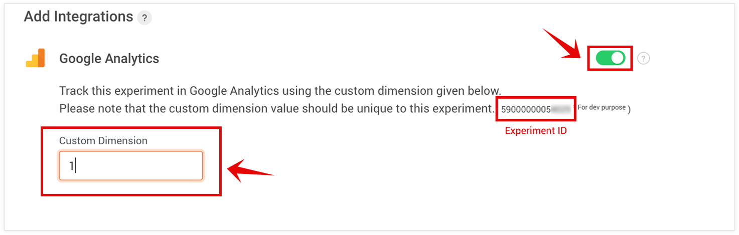 PageSense Integration with Google Analytics- Change Custom Dimension