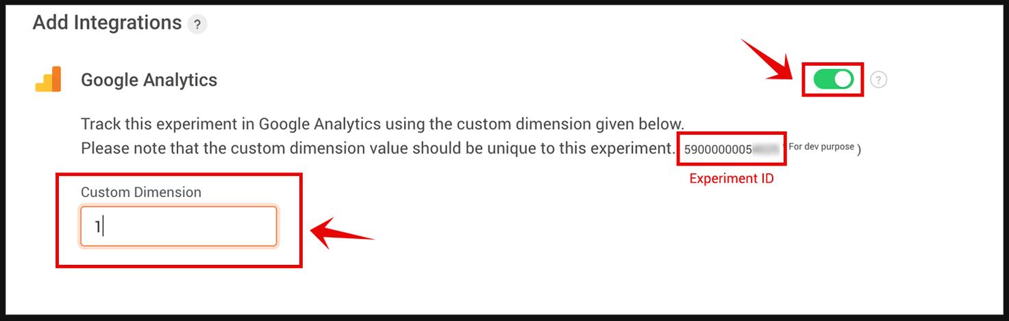 PageSense Integration with Google Analytics- Change Custom Dimension