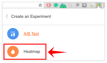PageSense Help | Create a heatmap using Chrome extension