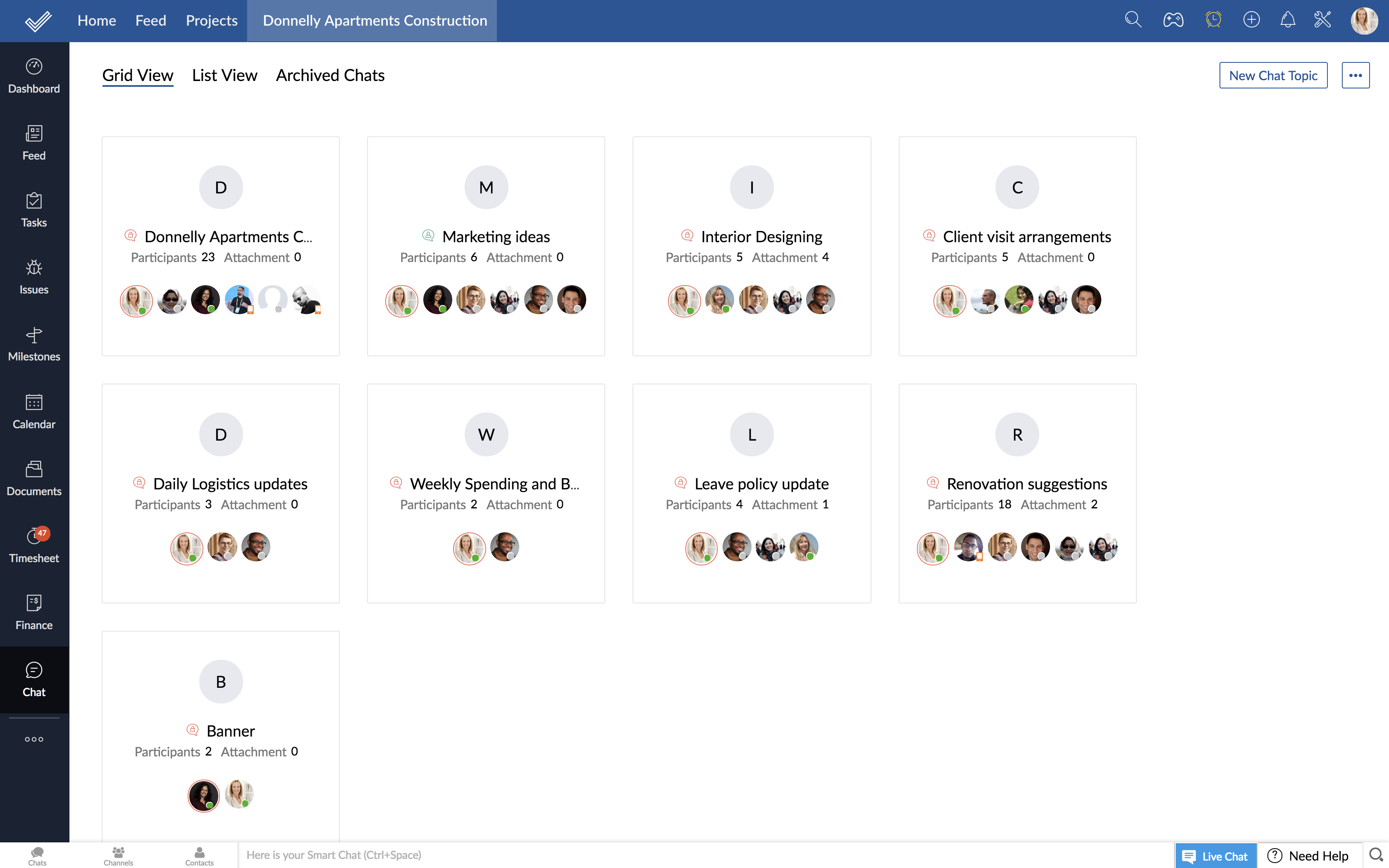 Project Management Tools | Project Management System - Zoho