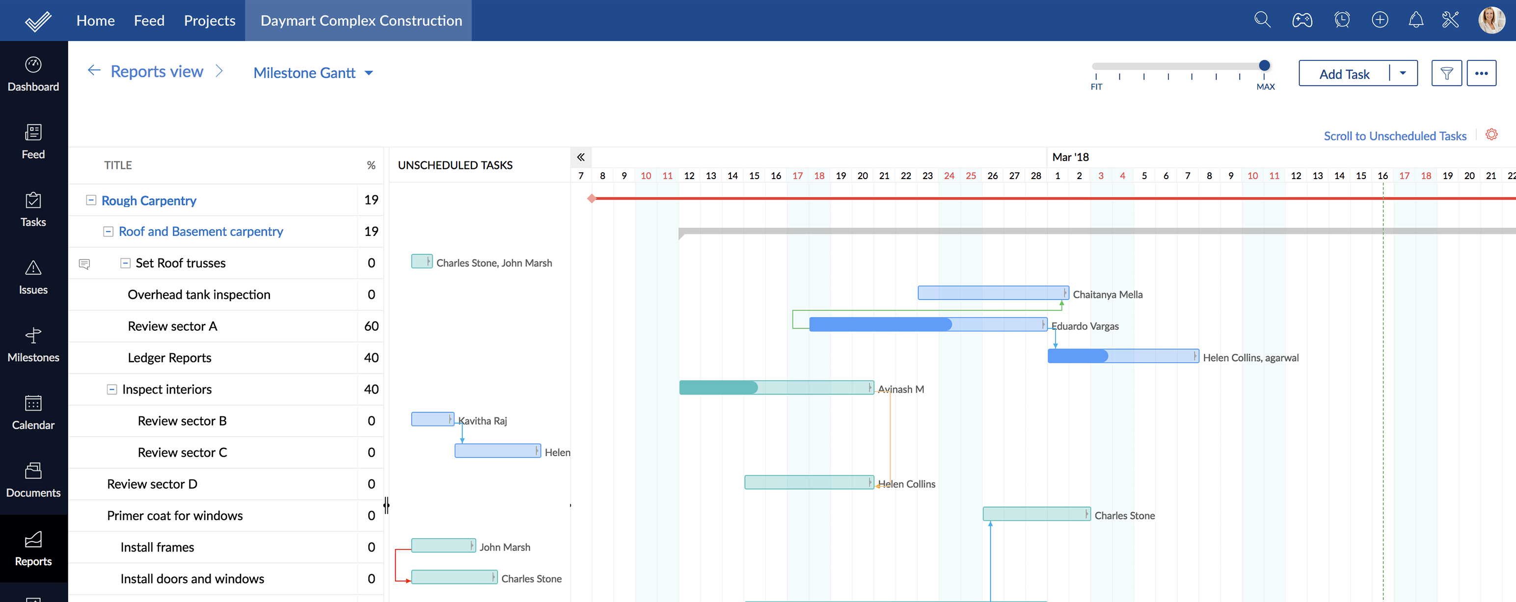Project Management Plan : Zoho Projects