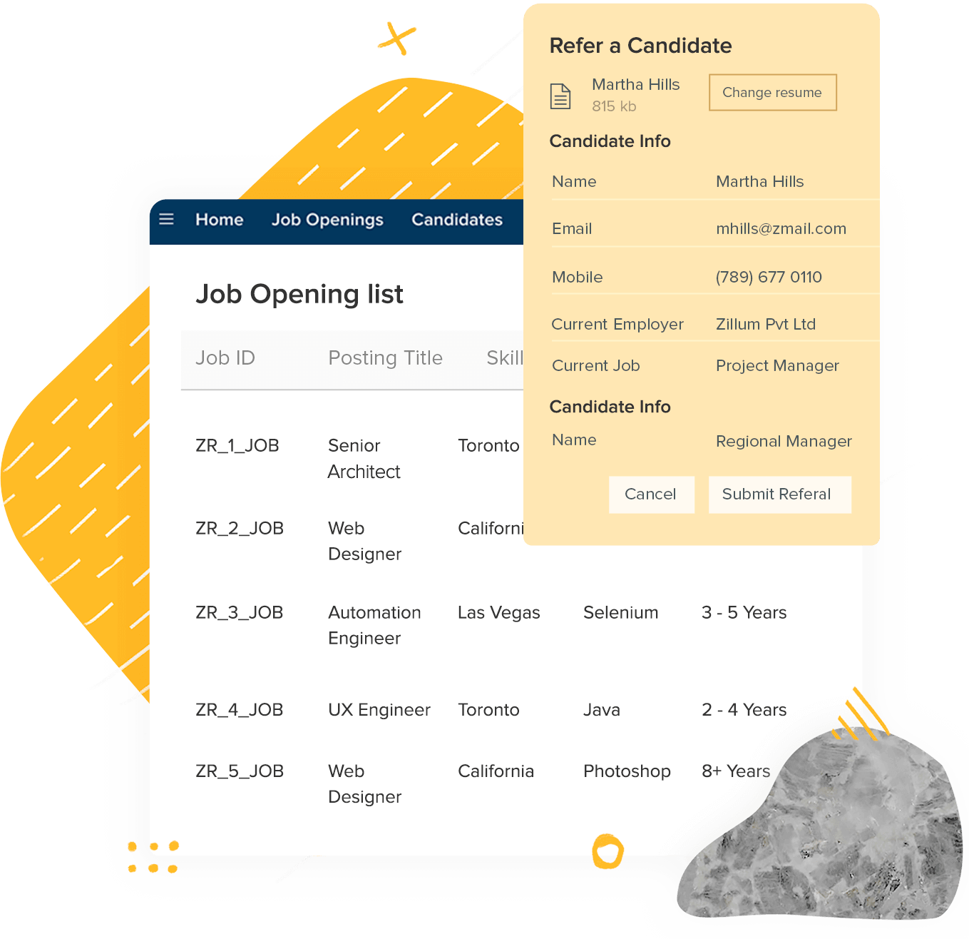 Free Applicant Tracking & Hiring Software for Recruiters | Zoho Recruit