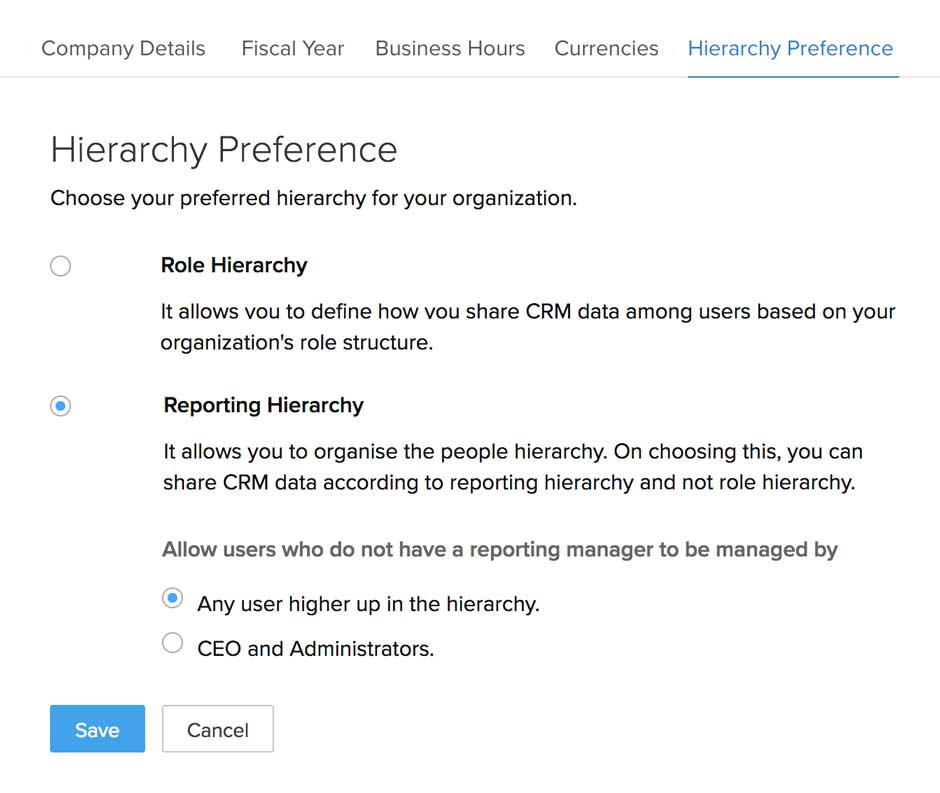 Reporting-Hierarchy
